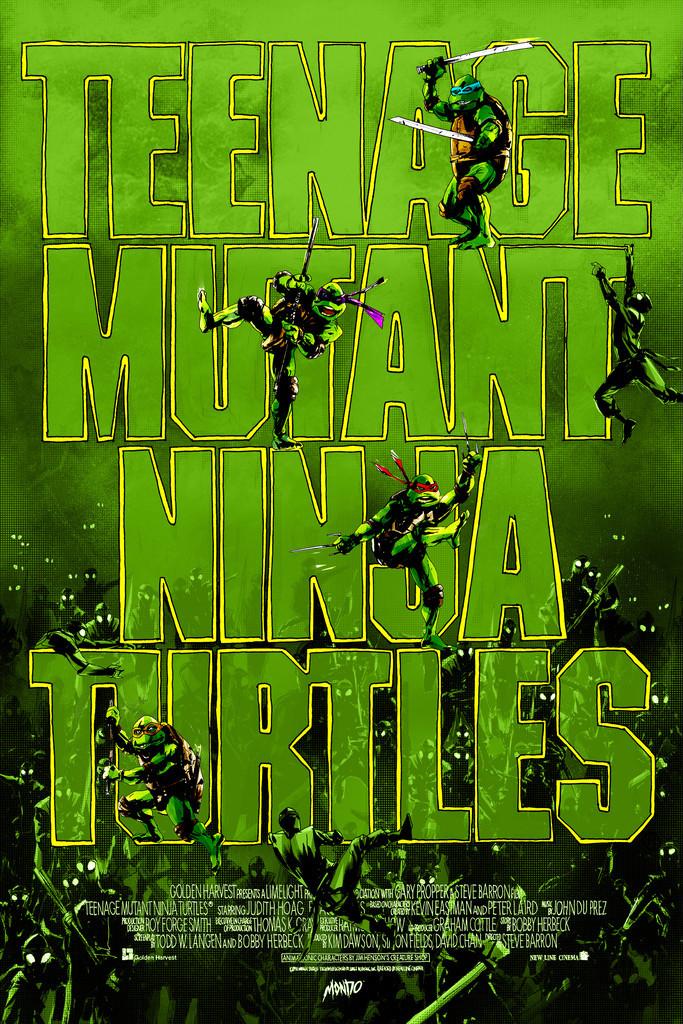 """「ティーンエイジ・ミュータント・ニンジャ・タートルズ 」 Teenage Mutant Ninja Turtles  by Jock 24"""" x 36""""  Edition of 325"""