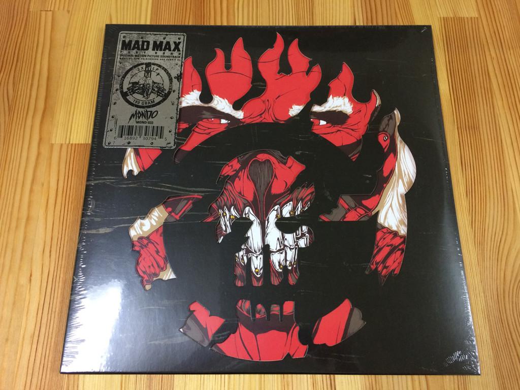 「マッドマックス 怒りのデス・ロード」オリジナルサウンドトラック限定盤 Mad Max: Fury Road 2XLP By Tom Holkenborg (aka Junkie XL) ARTWORK BY: BoneFace