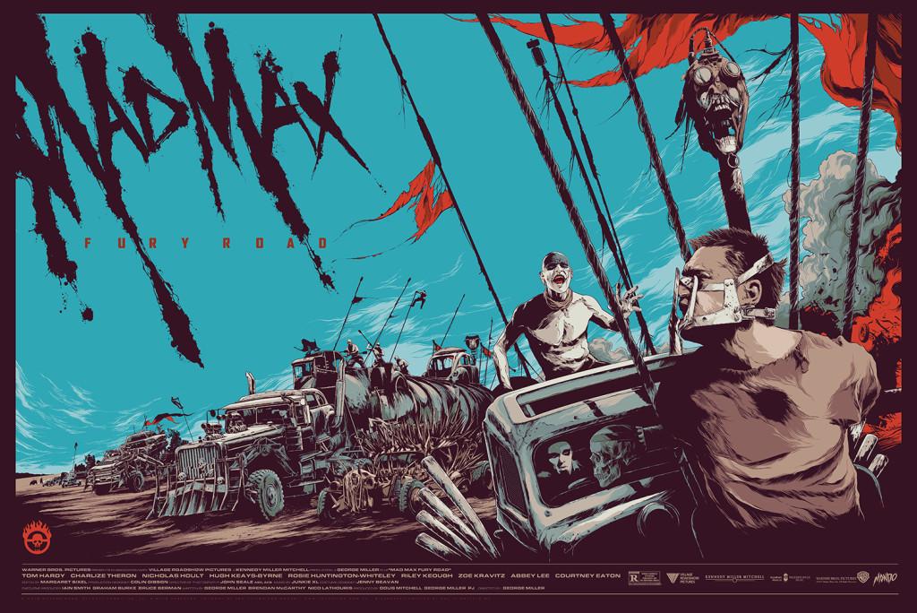 「マッドマックス 怒りのデスロード」 Mad Max: Fury Road Ken Taylor 36″x24″ US$55