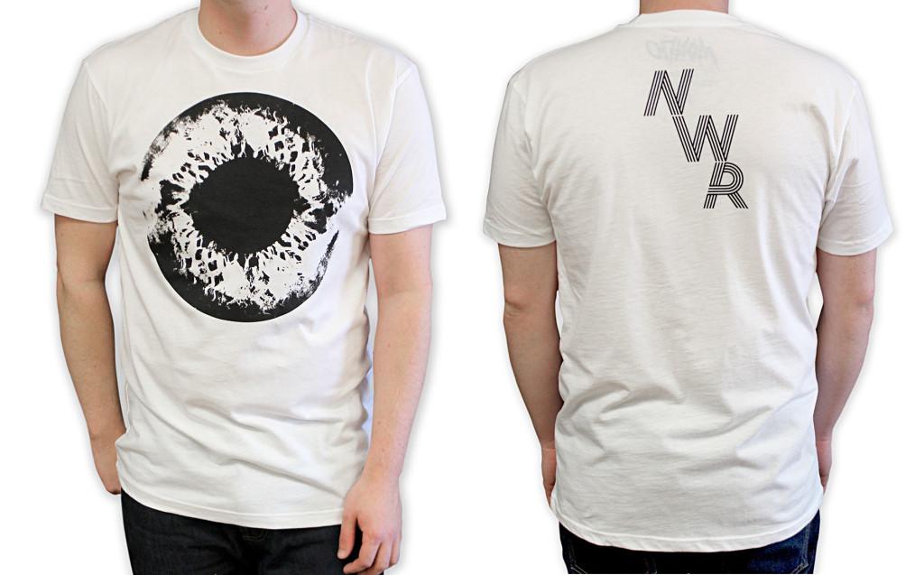 「ニコラス・ウィンディング・レフン : アクト オブ シーイング」Tシャツ Nicolas Winding Refn: The Act of Seeing T-Shirt. Art by Jay Shaw. US$25